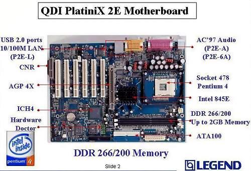 联想:支持533外频的i845e主板图片曝光